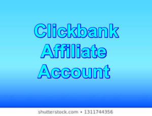 Clickbank affiliate account image make money as vlovkbank affiliate