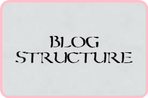 blog structure image how to write to make money