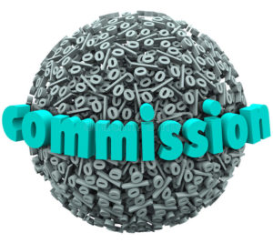 Commision payment image