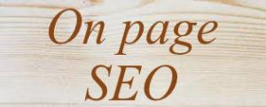 On page SEO start online business st home
