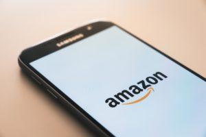 Amazon on mobile image